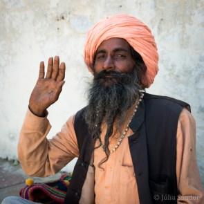 India impressions: Holy man