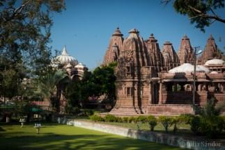 Cenotaphs in the Mandore garden of Jodhpur