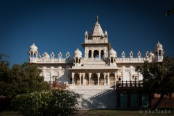 Jaswant Thada - the royal cremeation place in Jodhpur