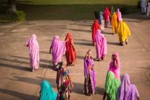 India impressions: Visitors in Khajuraho