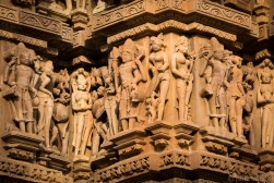 India impressions: Temple decoration in Khajuraho