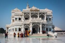 Prem Mandir - Krishna temple in Vrindavan