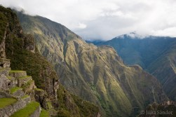 The Andes: view to the surrounding hills