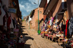 In the Sacred Valley, Peru: Chinchero