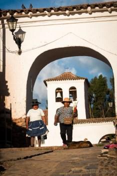 In the Sacred Valley, Peru: Chinchero