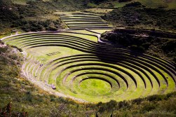 Sacred Valley: view of Moray