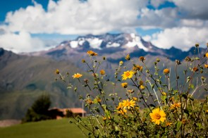 Mountain view in the Sacred Valley