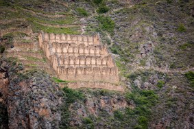 In the Sacred Valley, Peru: Ollantaytambo