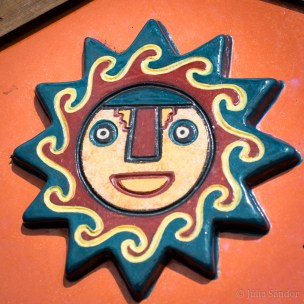 The Sun is an important symbol for the Incas