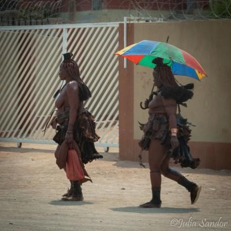 Going for shopping in Opuwo