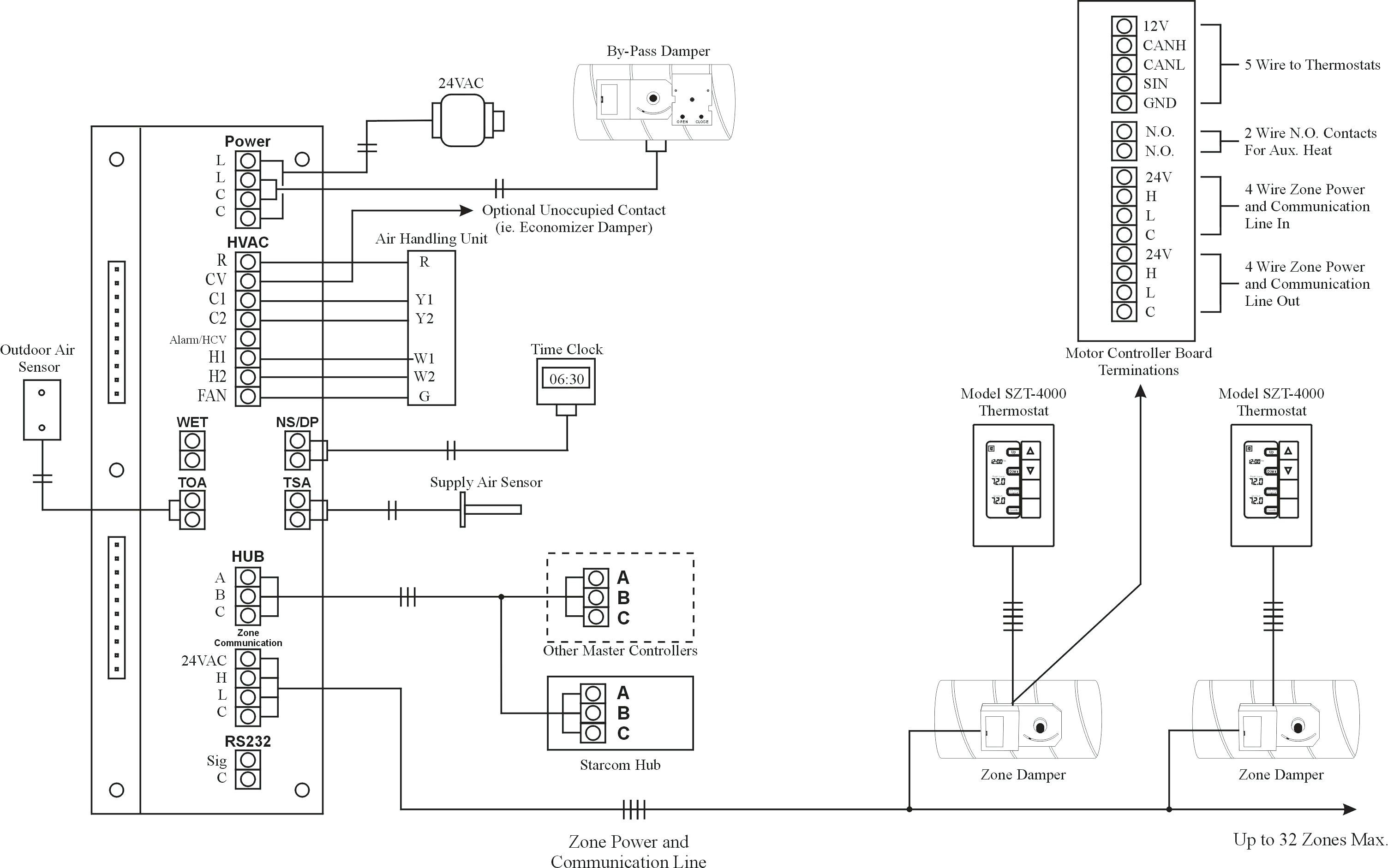 Optical Sensor Schematic