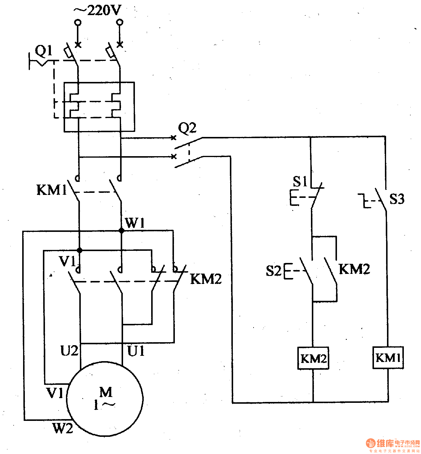 Collection Of Air Compressor Motor Starter Wiring Diagram Download
