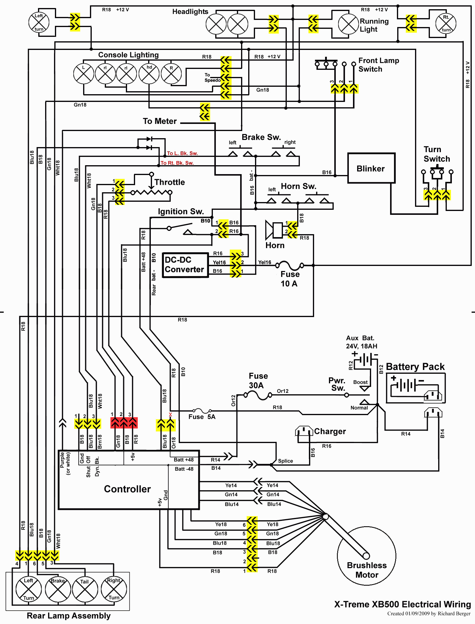 Motorcycle Electric Diagram