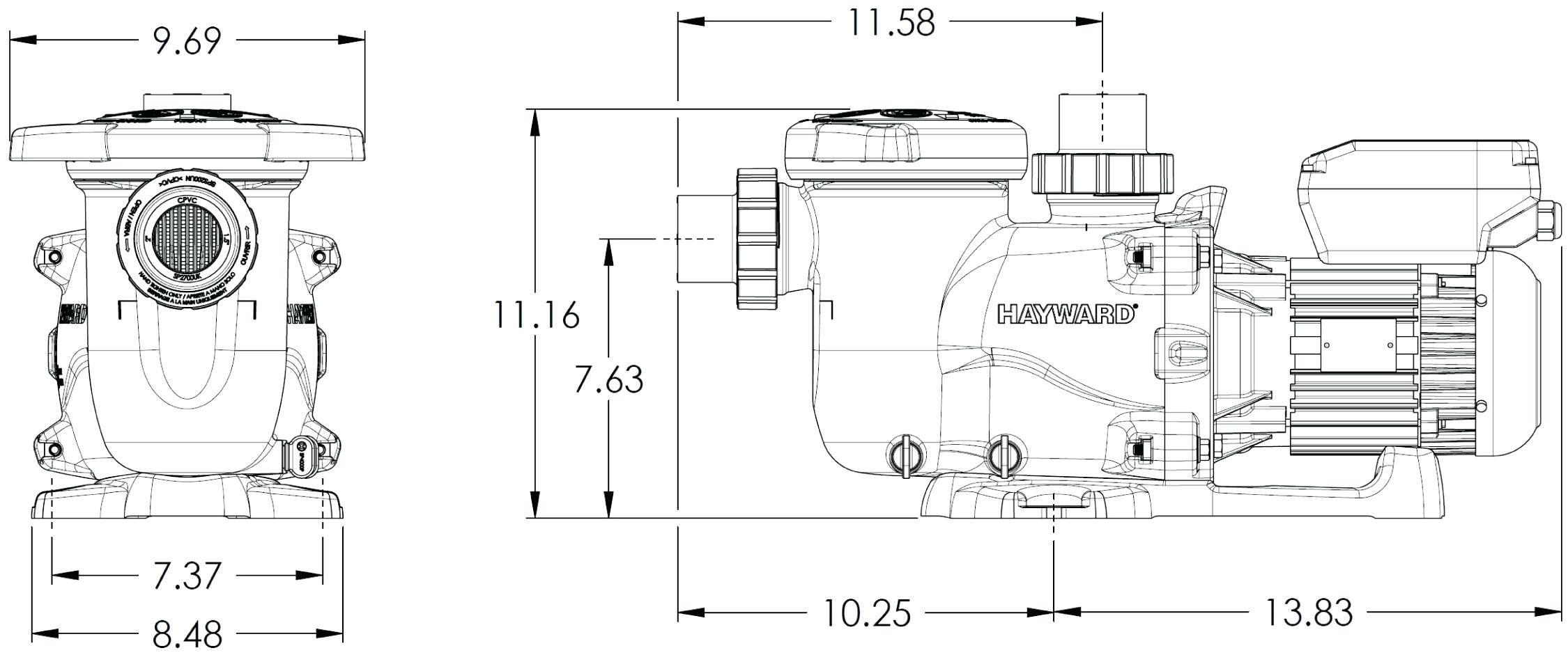 Find Out Here Hayward Super Pump 1 5 Hp Wiring Diagram