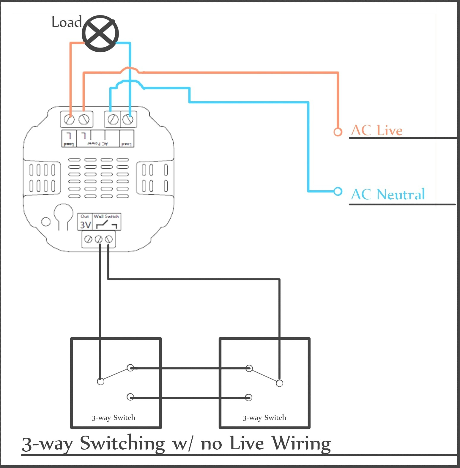 Wire Three Way Switch Diagram Multiple Light