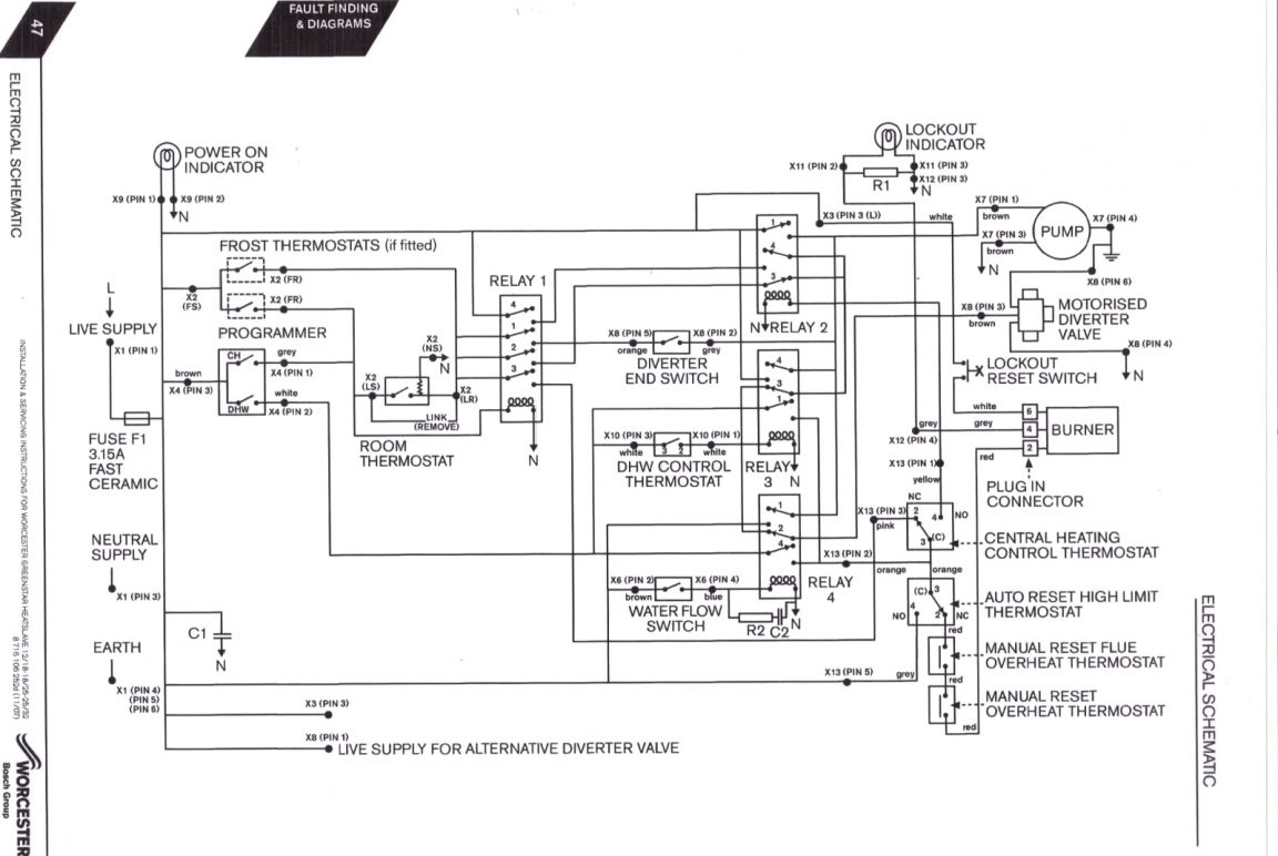Fulton Steam Boiler Schematic Diagram