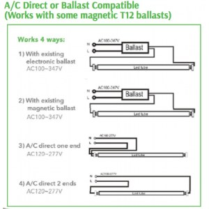 Gallery Of T12 Ballast Wiring Diagram Sample