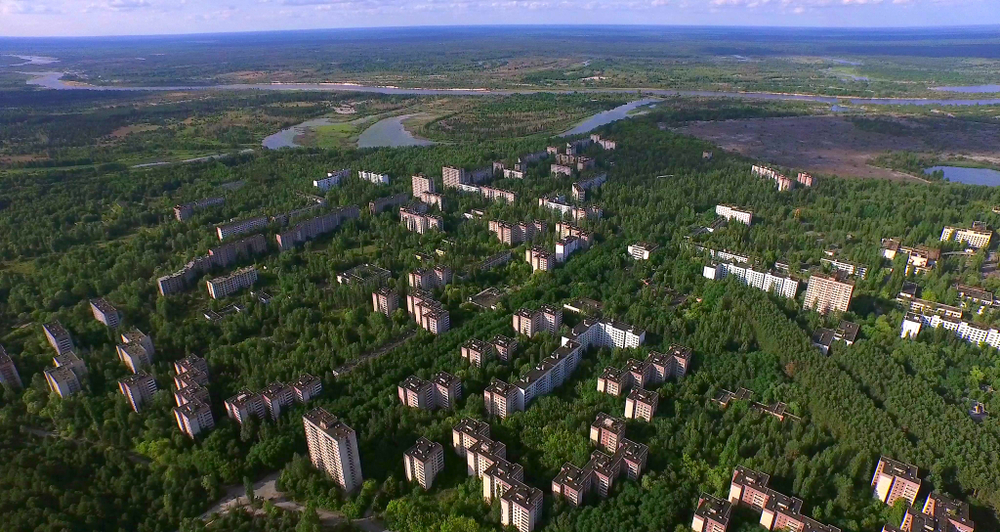Chernobyl By Air: A Birds-Eye View of Catastrophe