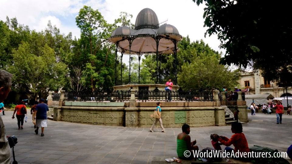 Oaxaca Main Plaza
