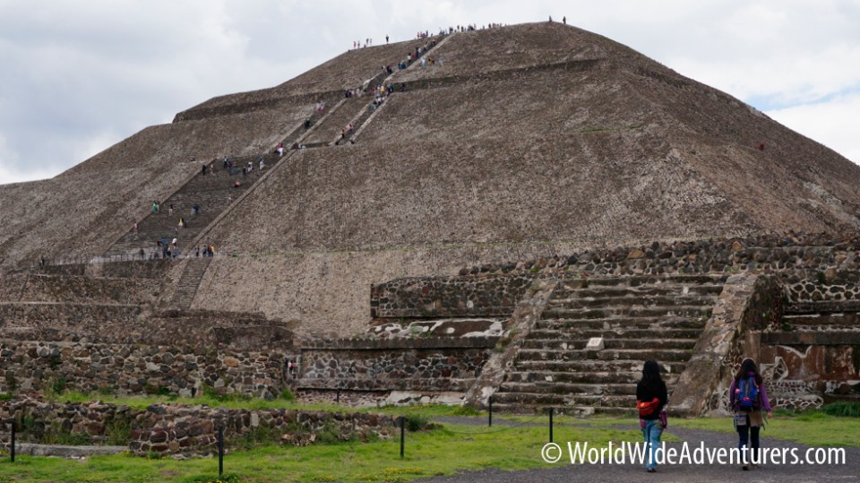 Teotihuacan Great Pyramids Mexico