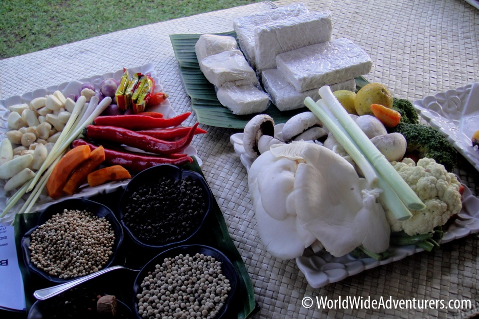 Balinese Cooking Lessons at Paon