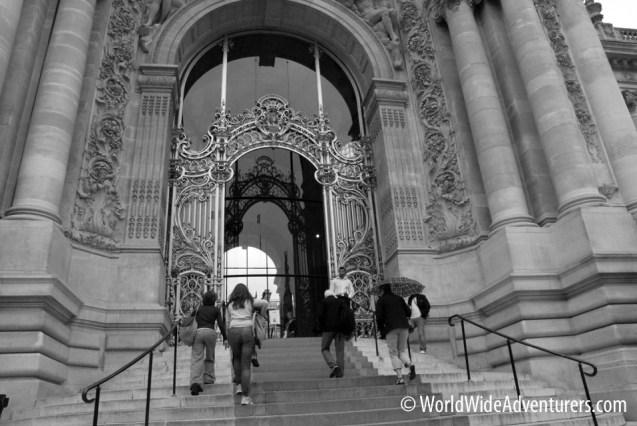 Paris Black and White Photos