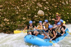 The most exhilarating and fun thing we did in Costa Rica - such a fun day