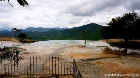 HIERVE EL AGUA - The Petrified Waterfall
