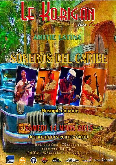 Soneros del Caribe en Luynes