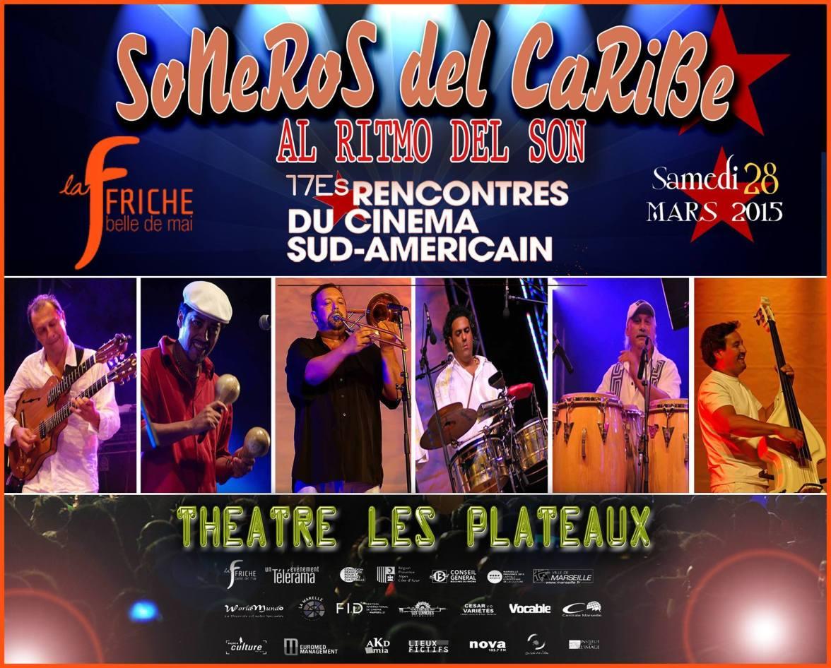 28 de marzo - Soneros del Caribe en Marsella