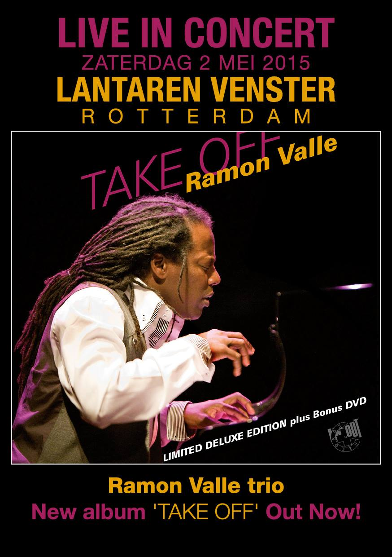02 de mayo - Ramón Valle Trío en LantarenVenster de Rotterdam