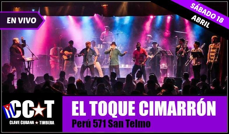 18 de abril - Clave Cubana en El Toque Cimarrón de Buenos Aires