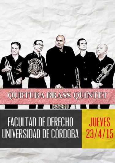 23 de abril - Qurtuba Brass Quintet en la Facultad de Derecho de la Universidad de Córdoba