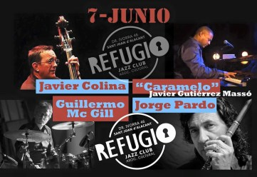 07 de junio - Javier Caramelo Massó y + en Refugio Jazz Club de Alicante