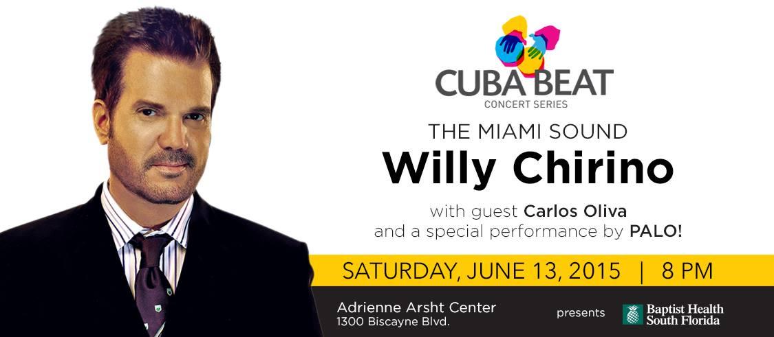 13 de junio - Willy Chirino y + en Adrienne Arsht Center de Miami, Florida