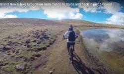 e-bike in Cuzco area near Machu Picchu