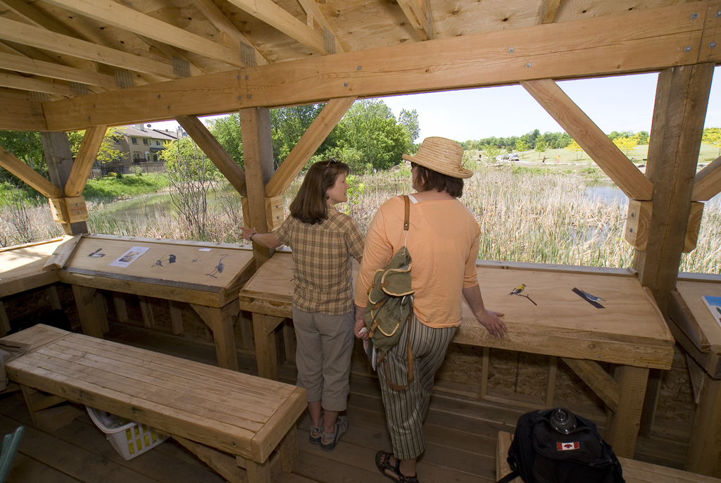 The outdoor classroom is but a part of the learning experience