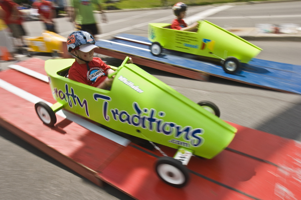Annual Orleans Soapbox Derby in Orleans, Ontario Canada