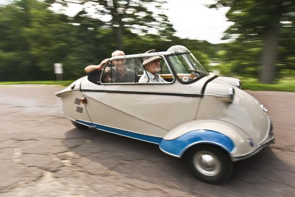 Jeff Upton's Messerschmitt...a post war beauty