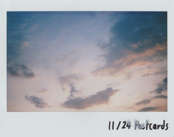 Notches - 3rd September Malaysia, 3rd September Sunset, Postcard 9 - Website: https://www.instagram.com/slr670/ (Photos are taken with a modified instax wide 300 with a Mamiya press lens.)
