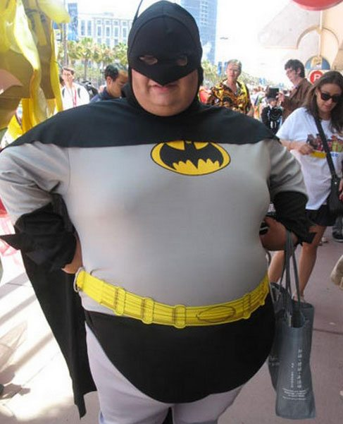 Robin Man Outfits Fat