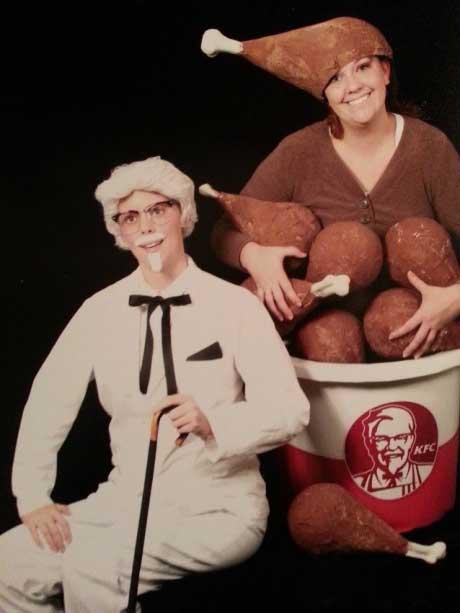 Fast Food Themed Senior Photos