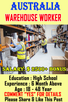 warehouse and process workers