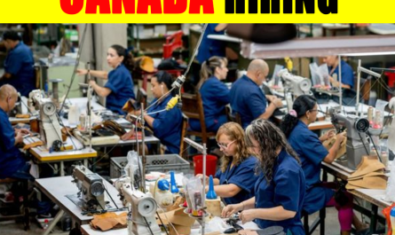 Shoe Factory Workers wanted in Canada