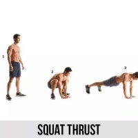 Squat Thrust - Benefits and tips