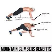 فوائد الجبل المتسلقون