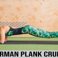 Spiderman Plank Crunch