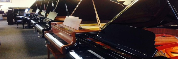 New Grand and Upright Pianos by Yamaha, Steinway, Kawai, Seiler and more. All Pianos on Sale at our piano store.