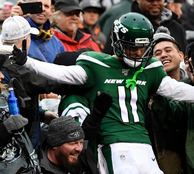 Do the Jets have Deep Pockets for the Deep Threat, Robby Anderson?