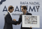 Rafael Nadal and Roger Federer someone had to lose the Australian men's final